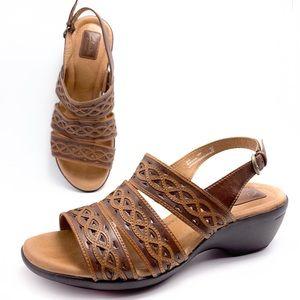 Clarks Artisan 10W Slingback Lightweight Sandals